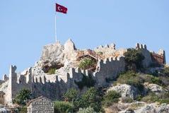 gammal fästning Royaltyfria Foton