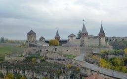 gammal fästning Royaltyfria Bilder
