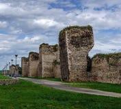 Gammal fästning (färgversionen) Arkivbild