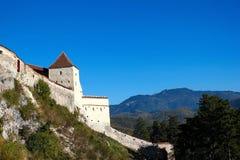 Gammal fästning i bergen Royaltyfri Fotografi