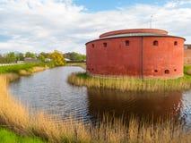 Gammal fästning i Malmo, Sverige Royaltyfri Foto