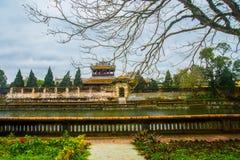 Gammal fästning, TON, VIETNAM royaltyfri fotografi