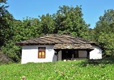 gammal by för hus Arkivfoton