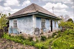 gammal by för hus Royaltyfria Foton