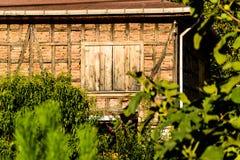 gammal by för hus Arkivfoto