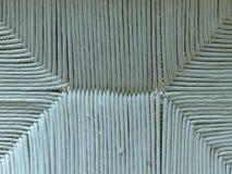Gammal för rottingbambu för grå vit vävd textur för bakgrund arkivfoto