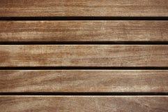 Gammal för staketbakgrund för mörk brunt trätextur arkivbild