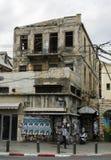 Gammal förstörd byggnad Royaltyfri Fotografi