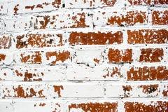 Gammal förstörd vägg Arkivbild