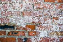 Gammal förstörd vägg Royaltyfria Bilder