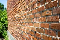Gammal förstörd vägg Royaltyfri Bild