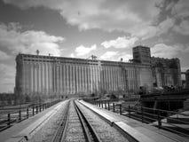 gammal fabrik Royaltyfria Foton