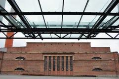 gammal fabrik Royaltyfri Bild