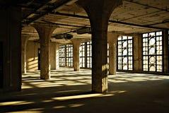 gammal fabrik 1933 Royaltyfri Bild