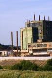 gammal fabrik Arkivbilder