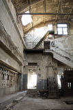 Gammal fabrik Arkivfoto
