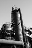 gammal fabrik Royaltyfri Fotografi