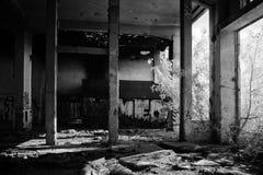 gammal fabrik Fotografering för Bildbyråer