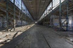 Gammal fabriksbyggnad Royaltyfria Bilder