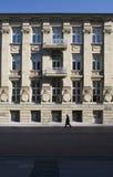 gammal facade Royaltyfri Bild