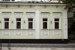 gammal facade Arkivfoto