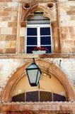 gammal facade Fotografering för Bildbyråer