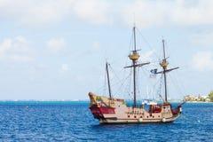 Gammal fartygsegling Arkivfoton