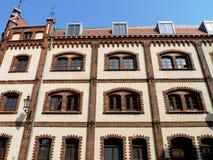 Gammal fasad Arkivbilder