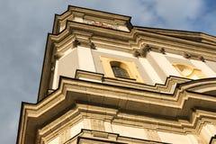 Gammal fasad i barock stil Royaltyfria Foton