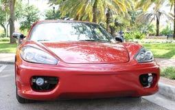 Gammal Ferrari bil Arkivfoton