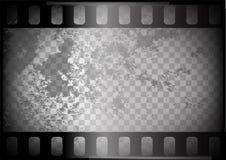 Gammal film på trasparent bakgrund Royaltyfri Foto