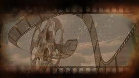 Gammal filmbandvideo lager videofilmer