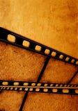 gammal filmfilm arkivbild