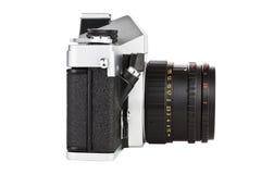 Gammal filmfoto-kamera för tappning Royaltyfria Bilder