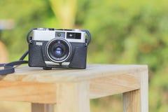 Gammal filmkamera Fotografering för Bildbyråer