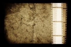 gammal filmram Arkivbilder