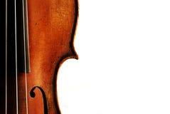 gammal fiol Arkivbilder