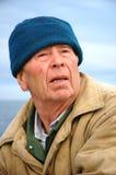 gammal fiskare Royaltyfri Fotografi