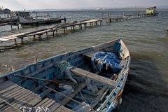 gammal fiskarelegat Royaltyfria Bilder
