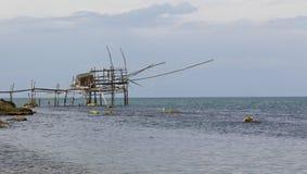 Gammal fiskemaskin Royaltyfria Bilder