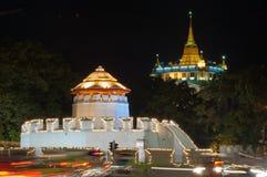Gammal fjärdedel av Bangkok Arkivfoton