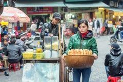 Gammal fjärdedel av Hanoi Royaltyfri Bild