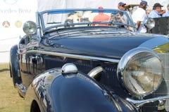Gammal flott tysk sportbil royaltyfria bilder
