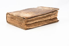 gammal forntida bok Royaltyfria Bilder