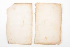 gammal forntida bok Royaltyfri Bild