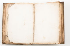 gammal forntida bok Royaltyfri Fotografi