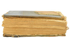 Gammal forntida bok Arkivbilder
