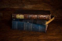gammal forntida bok Royaltyfri Foto