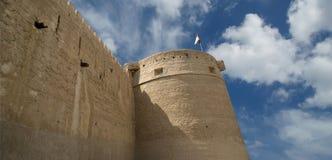 Gammal fort Dubai Förenade Arabemiraten (UAE) Fotografering för Bildbyråer