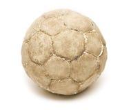 gammal fotboll Royaltyfri Bild